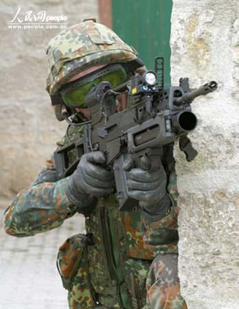 组图:德国陆军IdZ未来步兵系统