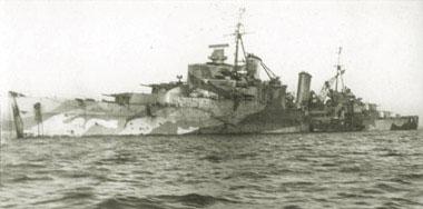 二战中英国南安普敦级轻巡洋舰简史(组图3)