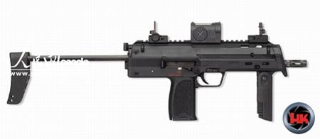 德国HK公司最新推出MP7A1型冲锋枪(组图)