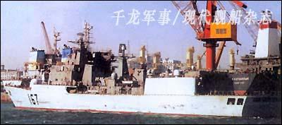 深圳号导弹驱逐舰对中国海军的意义和影响(组图)