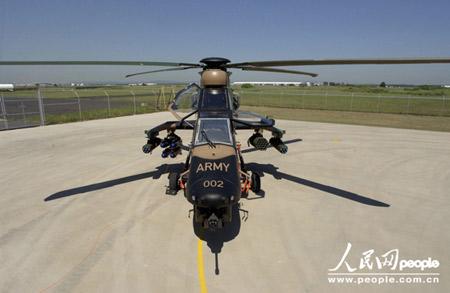 组图:澳大利亚陆军虎式侦察攻击直升机