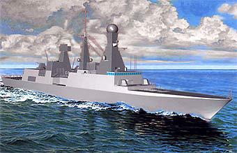 法国海军接收首艘地平线级防空型护卫舰(组图)