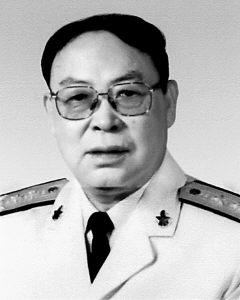 海军东海舰队原政委岳海岩中将逝世(附图)