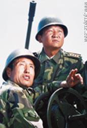 兰州军区高炮旅火炮实装实弹战术演练(组图)