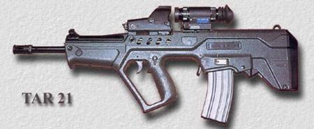 印度特种部队9月接收TAR21塔沃尔突击步枪(图)