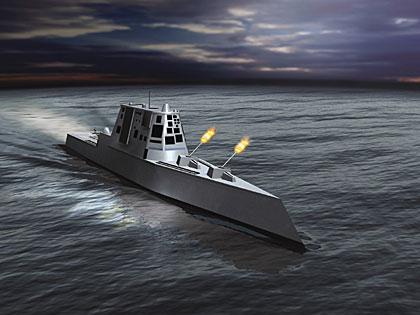 美军拟用海上基地破游击战航母时代走向终结