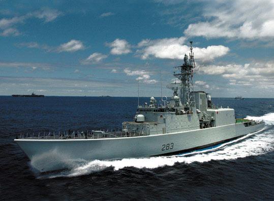 加拿大海军的易洛魁人级导弹驱逐舰(附图)