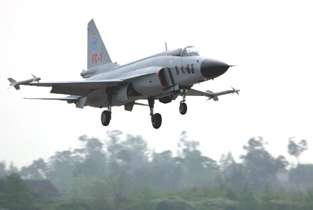中国枭龙战机生产线在巴基斯坦正式开工(附图)