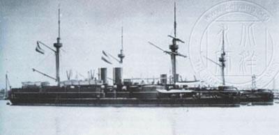 北洋水师定远舰重归威海港将作为军舰博物馆开放