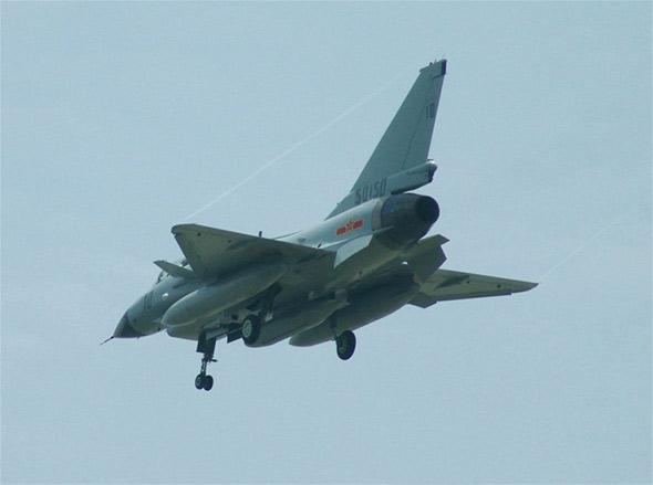 图文:中国歼十战斗机最新清晰图