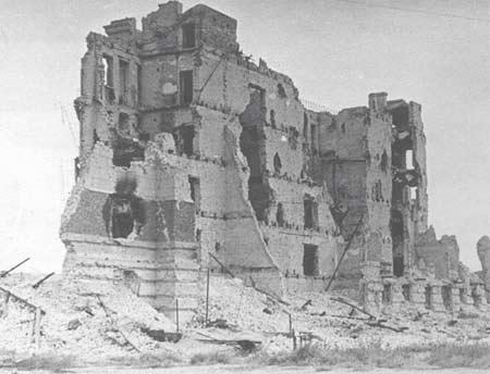 图文:残破的市区建筑