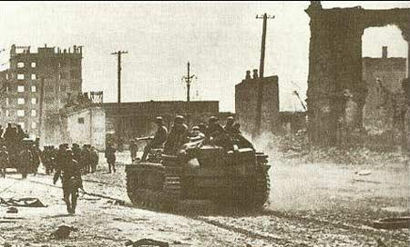 图文:德军控制大部分市区