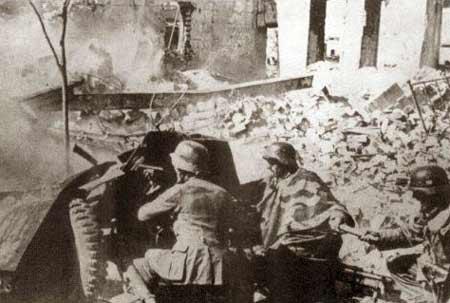 图文:德国步兵炮