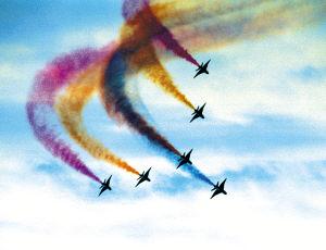 空军八一飞行表演队换装新战机(组图)
