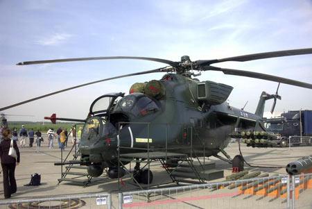 俄罗斯向捷克提供军用直升机以偿还债务(附图)
