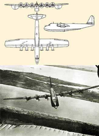 二战德国海上巨兽Bv222水上飞机(组图)