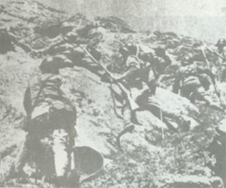 中国抗日战争武汉会战之万家岭大捷(图)
