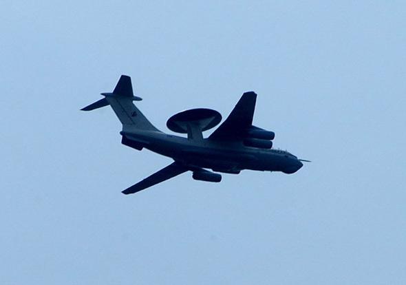 图文:中国试飞大型预警机(8)