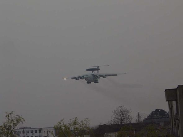 图文:中国试飞的第二种大型预警机(1)