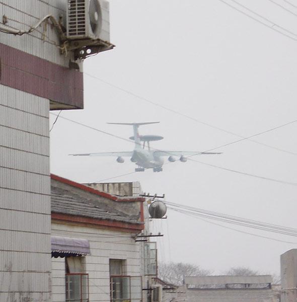 图文:中国试飞的第二种大型预警机(2)