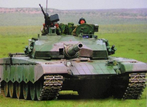 图文:中国陆军最新ZTZ-99式主战坦克(13)