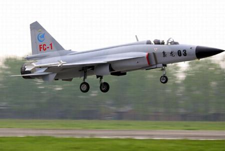 中国枭龙战机参加孟加拉空军采购竞标(组图)