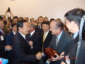 中国枭龙战机可能参加2007年巴黎航展(附图)