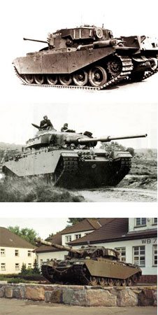 英国战后第一代巡洋坦克:百人队长始末(组图)