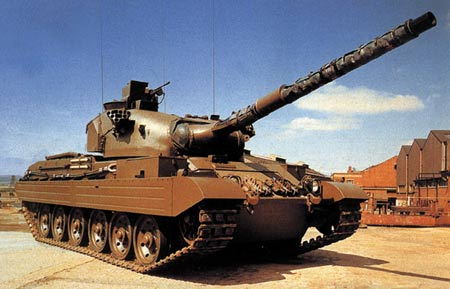 英国为出口研制的维克斯系列主战坦克(组图)