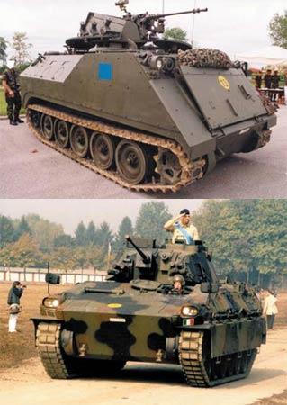 意大利陆军新铁骑:达多步兵战车(组图)