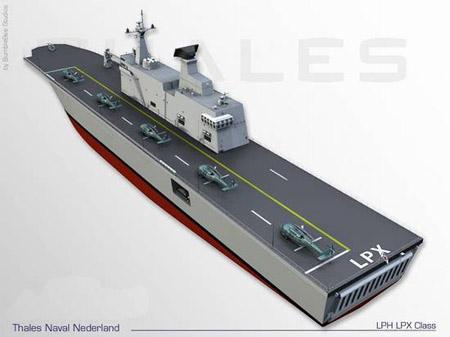韩国独岛号轻型航母正式下水明年交付使用(图)