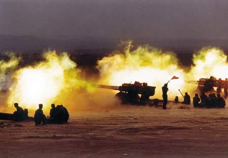中国大型合成战术训练基地纪事(组图2)