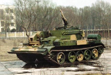 中国研制和装备的几种坦克抢救牵引车(组图2)