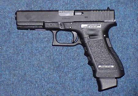 奥地利格洛克18型9毫米全自动手枪(组图)