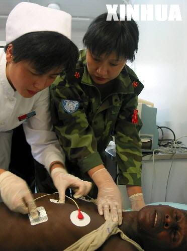 女兵的情与爱――记中国驻刚果(金)维和医疗分队