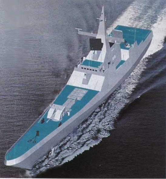 俄开始建造第二艘量产型20380型隐形护卫舰(图)