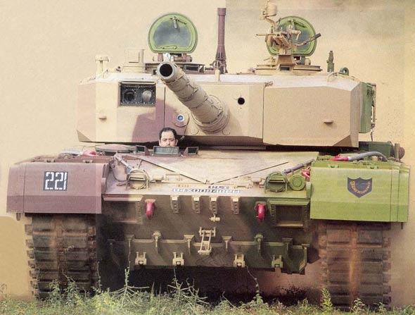 """印度""""阿琼""""坦克目前仍不具备实战能力(附图)"""