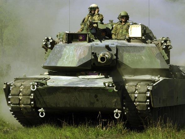 美国将对现役M1A1主战坦克进行现代化改进(图)