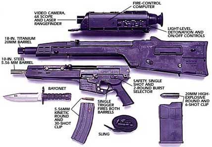 美陆军暂停新型轻武器采购的招标工作(组图)