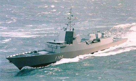 西班牙海军F100级多用途宙斯盾护卫舰(组图)