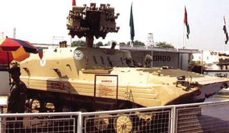 武器新秀:印度毒蛇反坦克导弹(组图)