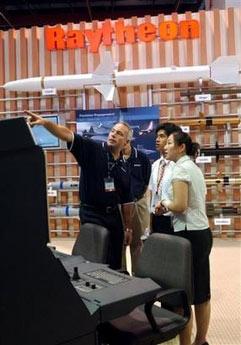 美国军火企业积极参加台北国防工业展(组图)