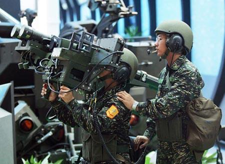 台军方公开推出电脑游戏渲染大陆军事威胁(图)