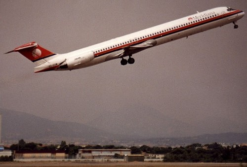 """资料:MD-80""""麦道80""""客机(组图)"""