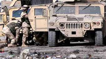 驻伊美军将接收350辆改进型M1114悍马车(组图)