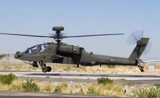 波音公司向科威特交付首架AH-64D型直升机(图)