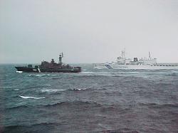 俄日边防兵19日开始在日本海沿岸举行联合演习