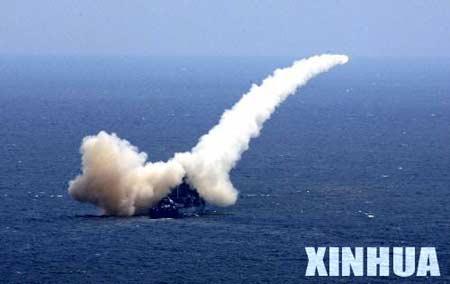 中俄潜艇预警机军舰合同打击敌舰艇编队(组图)