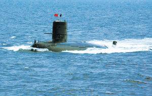 军演现场报道:我海军潜射导弹公开亮相(组图)