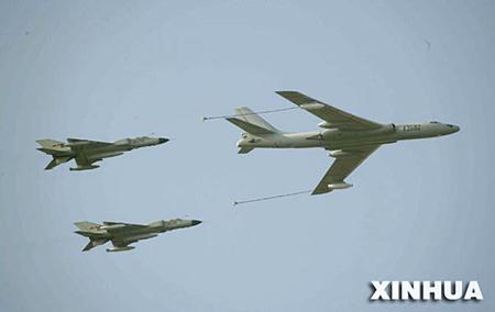 中俄军演强制隔离之战--空中加油篇(图)